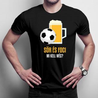 Sör és foci - mi kell még? -