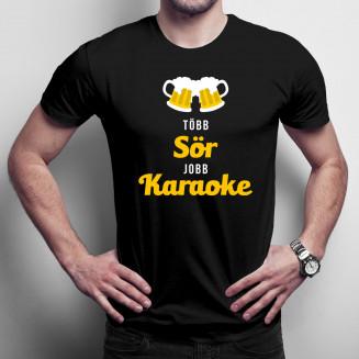 Több sör, jobb karaoke