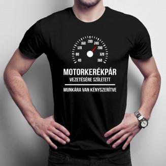 Motorkerékpár vezetésére...