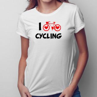 I love cycling - Női póló...