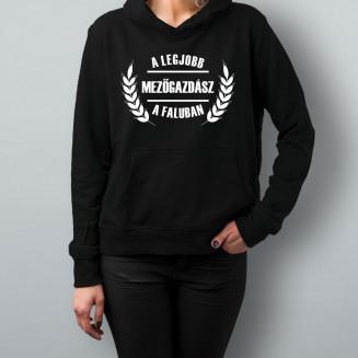 A legjobb mezőgazdász a faluban - Feliratos női pulóver
