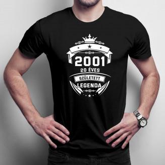 2001 Született legenda 20...