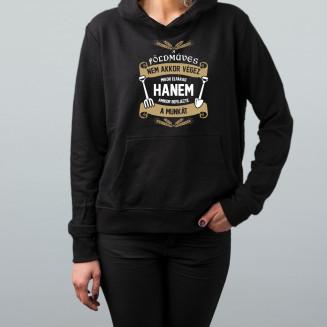 A földműves nem akkor végez, mikor elfárad - Feliratos női pulóver