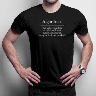 Algoritmus - Ezt akkor mondják az informatikusok, mikor nem akarják elmagyarázni, mit csináltak