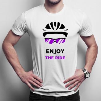 Enjoy the ride - Férfi póló felirattal
