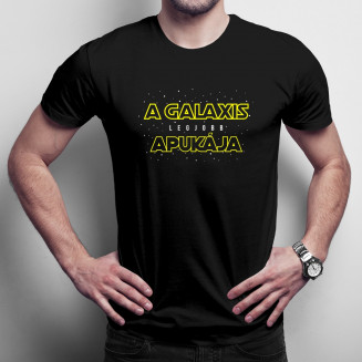 A galaxis legjobb apukája - Férfi Póló Felirattal