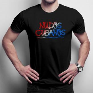 Nudos cubanos - Férfi póló...