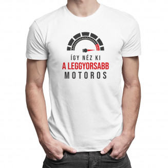 Így néz ki a leggyorsabb motoros